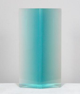 Diamond Column, Blue