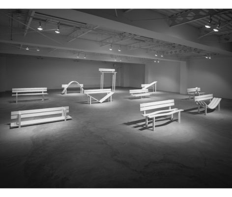 Jeppe Hein: Social Benches