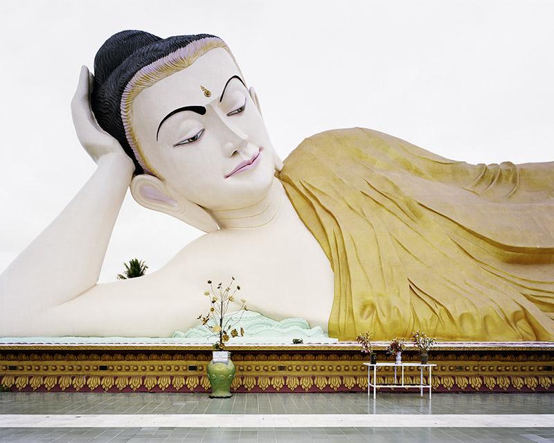 "Mya Thar Lyaung, 2013, C-print, framed, 72"" x 84.5"""