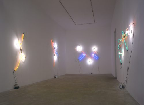 Keith Sonnier: Neon Wrapping Incandescent