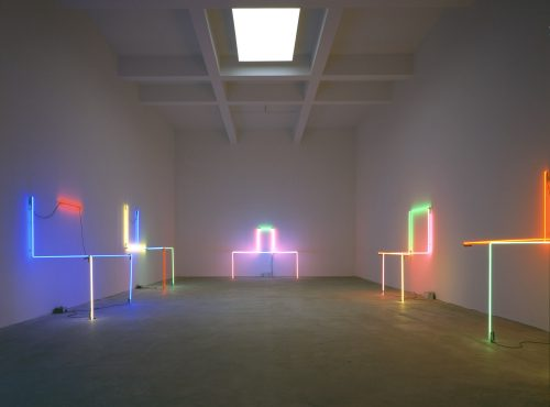 Keith Sonnier: Neon Wrapping Neon